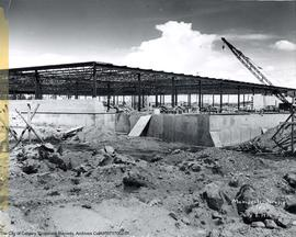 Manchester Building, first floor construction.