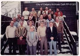 City of Calgary Commissioners and Department Heads Seminar in Banff, 1980 November