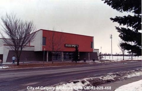 Bob Bahan Swimming Pool Entrance Calgary Alberta Alberta On Record