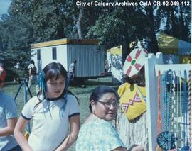 Calgary Urban Indian Youth Booth at Heritage Day Festival, Calgary, Alberta