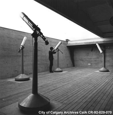 Observatory Centennial Planetarium Calgary Alberta