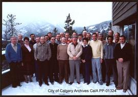 City of Calgary Commissioners and Department Heads Seminar in Banff, 1985