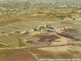 Aerial View of Mount Royal College, Calgary, Alberta