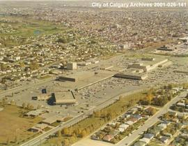 Aerial View of North Hill Shopping Centre, Calgary, Alberta