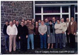 City of Calgary Commissioners and Department Heads Seminar in Banff, 1982