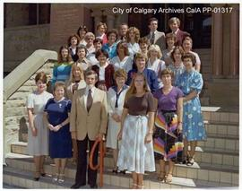 City Clerk's Department Staff 1980