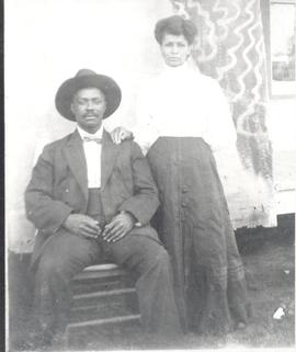 Mr. and Mrs. Spriggs of Begg, Oklahoma