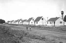 Veteran's housing project, 48th Ave., Wetaskiwin, Alberta.