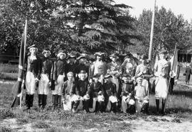 """Pageant of Confederation,"" Canada's Diamond Jubilee celebration, Wetaskiwin, Albe..."