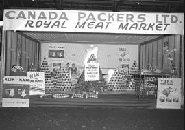 Royal Meat Market booth at Kinsmen Club Carnival, Wetaskiwin, Alberta.