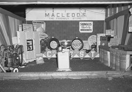 MacLeod's Hardware booth at Kinsmen Club Carnival, Wetaskiwin, Alberta.