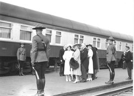 Royal Visit of King George VI and Queen Elizabeth to Edmonton, Alberta.