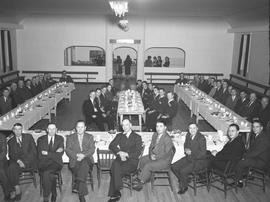 Banquet for the Wetaskiwin Colonels, Wetaskiwin, Alberta.