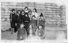 East Springs School 1925