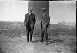 Donnie MacDonald and Harold Bateman, Southeast Hill of Medicine Hat