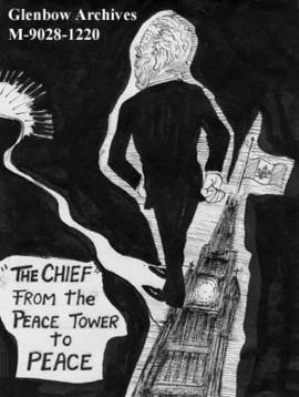 """'The Chief' from the Peace Tower to Peace"""