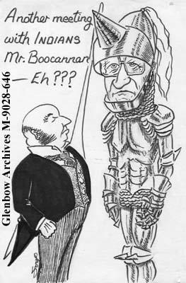 """Another meeting with INDIANS Mr. Boocannan - Eh???"""