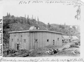 Building at Eldorado Mine, Great Bear Lake, Northwest Territories.