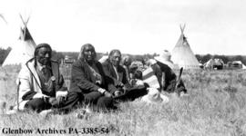 Elders on the Blackfoot (Siksika) reserve, Alberta.