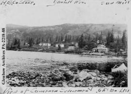 View of Cameron settlement, Great Bear Lake, Northwest Territories.