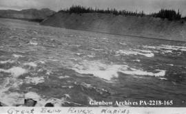 Great Bear River rapids, Northwest Territories.