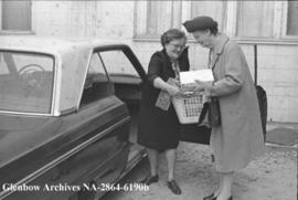 Article in the Herald about Meals on Wheels, Calgary, Alberta.