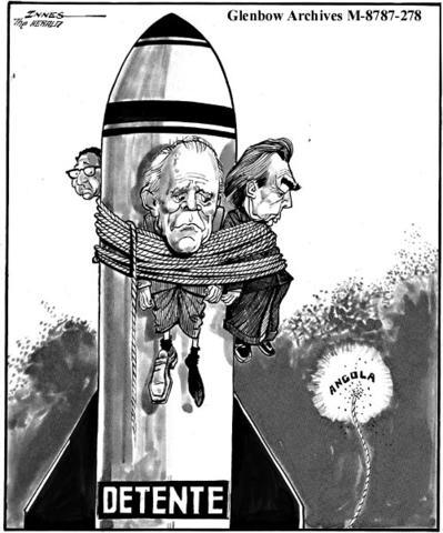 detente nixon Leonid brezhnev (left) and richard nixon daigle, craig the limits of detente: the united states, the soviet union, and the arab-israeli conflict, 1969–1973.