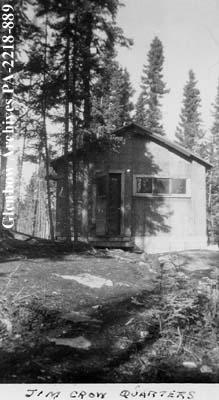 """Jim Crow quarters"", La Ronge, Saskatchewan."