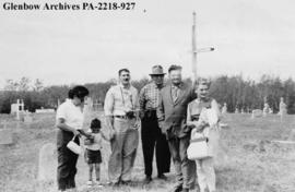 Gabriel Dumont Memorial Meeting at Batoche, Saskatchewan.