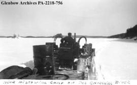 """Near Nistowiak camp on the Churchill River"", Saskatchewan."
