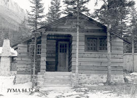 Becker's Cabins at the Miette Hot Springs, Jasper National Park, Alberta.