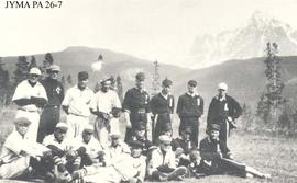 Lucerne and Jasper baseball teams, Lucerne, British Columbia.