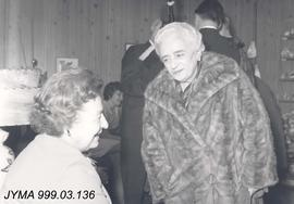 Beatrice Ross and Mrs. Thomson, Jasper, Alberta.