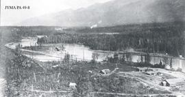 Foley, Welch & Stewart Supply Depot, Tete Jaune, British Columbia.
