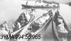 [Bedaux Expedition] : [Canoes], British Columbia