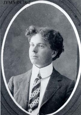 "Outfitter Donald ""Curly"" Phillips as a young man."