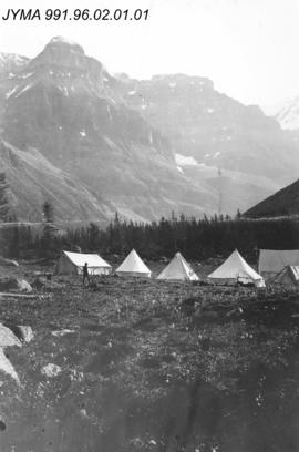 [Alpine Club of Canada Camp], Yoho National Park, British Columbia