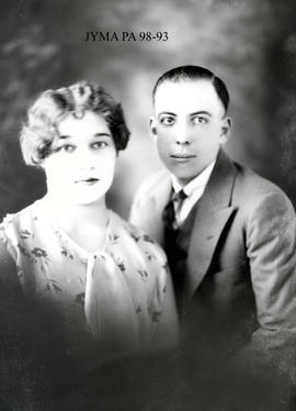 Barry Leight and his wife, Jasper, Alberta.