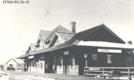 Canadian Northern Railroad Station, Lucerne, British Columbia.