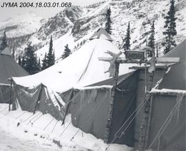 87th Mountain Infantry Detachment base camp, Columbia Icefield, AB