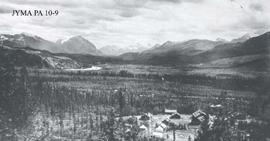 The Grand Trunk Pacific Railway Engineer's Camp at Fitzhugh, Jasper National Park, Alberta.