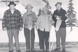 Men's Bonspiel, Jasper, Alberta.