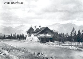 Administration Building and Superintendent's Residence, Jasper, Alberta.