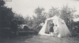 A camp at Moosejaw, Saskatchewan.