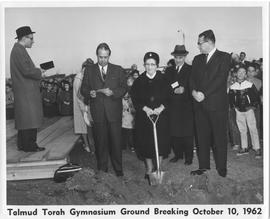 Gymnasium Groundbreaking.