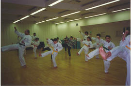 Karate Class at the JCC.