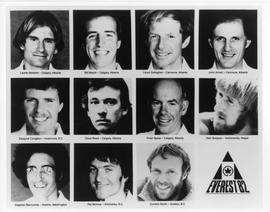 Canadian Everest Expedition team head shots compilation : [photograph]