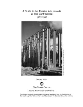 Banff Centre Theatre Arts fonds