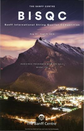 Banff International String Quartet Competition : [poster]