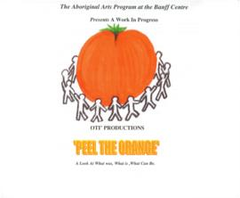 """Peel the Orange"" Poster and Programs"